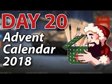 Day 20 Advent Calendar 2018! - World of Tanks thumbnail
