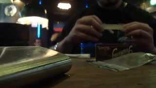 The Bulldog Amsterdam 2014, Rolling Joint ;) White Widow + Jack Herrer