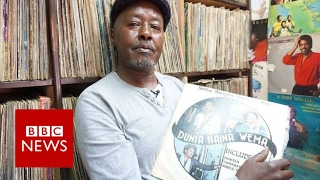 Kenya's vinyl king keeps on spinning   BBC News