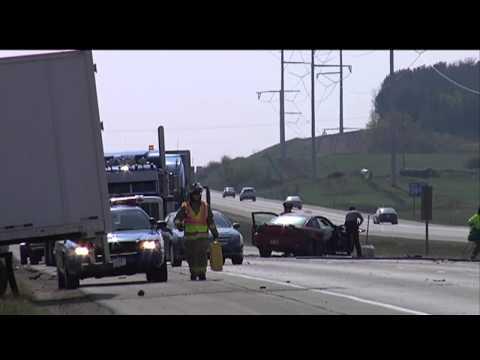 4 Hurt After Crash Snarled Traffic On I-39/90