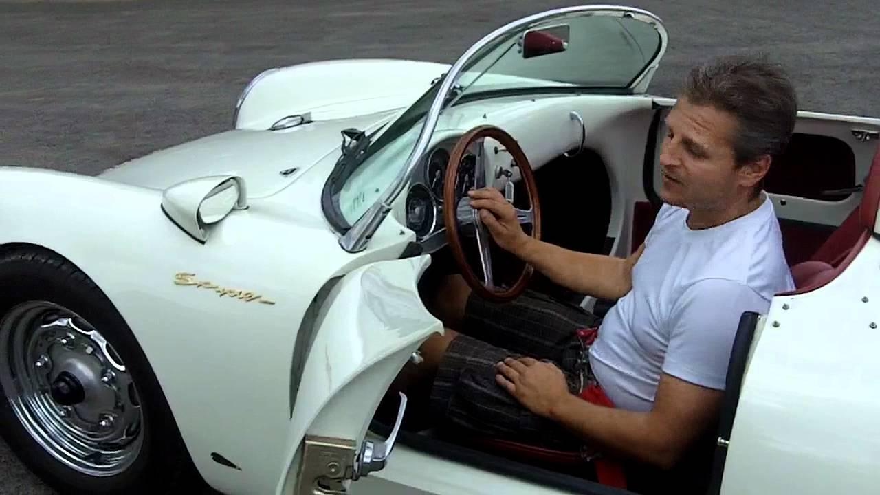Die Oldtimer Vermietung Beck Charmonix Cabrio Porsche Spyder 550 Nachbau Das James Dean Auto