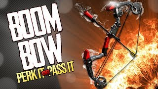 FORTNITE | *NEW* SNIPER THE BOOM BOW | PERK IT OR PASS IT | This Bow Is AWESOME! (But Broken)