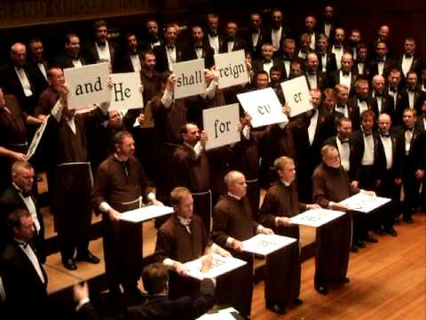 The Hallelujah Chorus - handbell 4Ringer FunnyCat TV