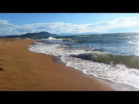 ВЛОГ Байкал часть 6 Baikal Мы пережили страшный шторм Бурятия Гремячинск Шикарный песочный пляж