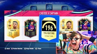 196 FUT DRAFT IN A PACK!! (FIFA 19)