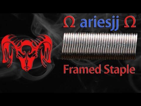 Framed Staple Tutorial