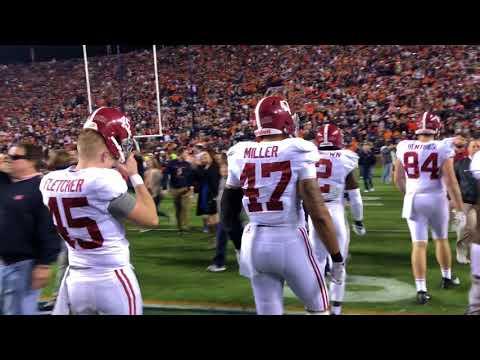 Auburn should've kept 'em off the field Saturday night