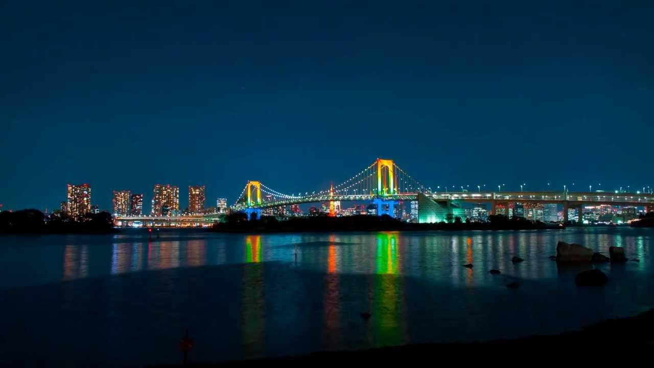 Resultado de imagen de rainbow bridge tokyo