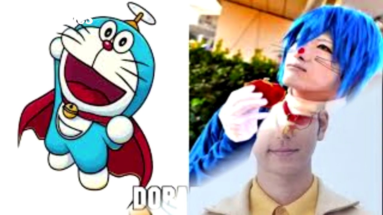 Doremon in real life and Nobita – Suneo – Xuka – Chaien