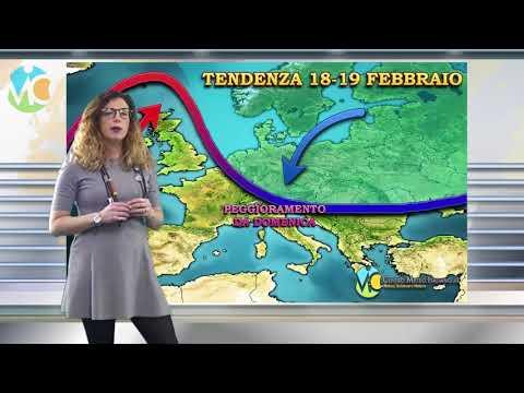 METEO WEEKEND: tregua anticiclonica ma con molte nuvole sull'Italia