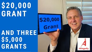 $20,000 Small Business Grant and Three New $5,000 Grants