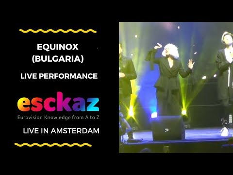 ESCKAZ in Amsterdam: Equinox (Bulgaria) feat. Kristian Kostov - Bones