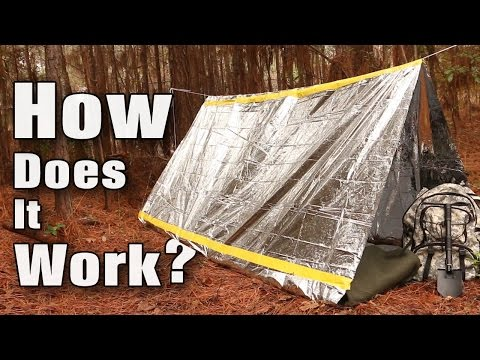 Trailblazer Camping Emergency Survival Tent – $6.99
