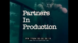 OCEANEERING INTERNATIONAL UNDERWATER ATMOSPHERIC DIVING SUIT  PROMO MOVIE  77694