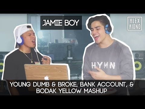 Young Dumb & Broke, Bank Account, & Bodak Yellow Mashup  Alex Aiono MASHUP FT JamieBoy
