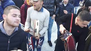 la tarantella di Bruno Marzano a Piazza Italia