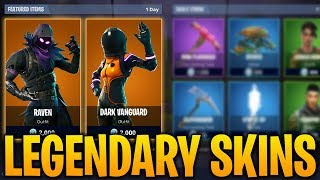 NEW LEGENDARY EASTER SKINS: Fortnite Battle Royale NEW Outfits & Customization