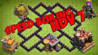 [HDV 7] Village Efficace & Design -Clash of Clans -