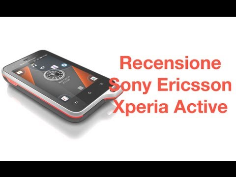 Sony Ericsson Xperia Active, recensione in italiano by AndroidWorld.it