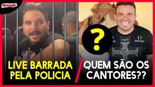 URGENTE : Junior Viana Divulga quem são os 5 cantores que vão pra live , Douglas Pegador e Preso ?