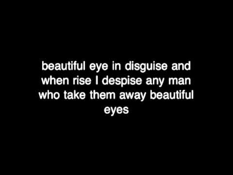 Beautiful eye lyrics by the naked brothers band