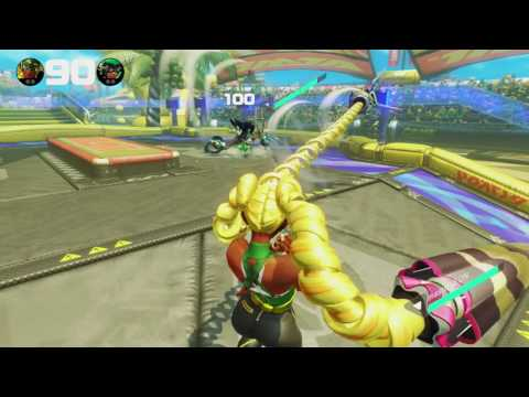 How to Make a Throw-Spam Ninjara Ragequit - ARMS (720p60FPS)