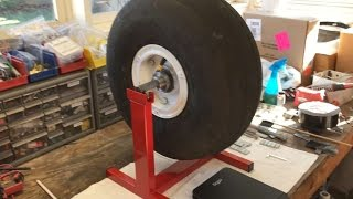 Aircraft Tire and Wheel Balancing - Using a Postal Scale