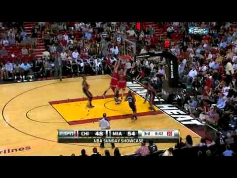 Chicago Bulls vs Miami Heat Full Highlights 3/6/2011
