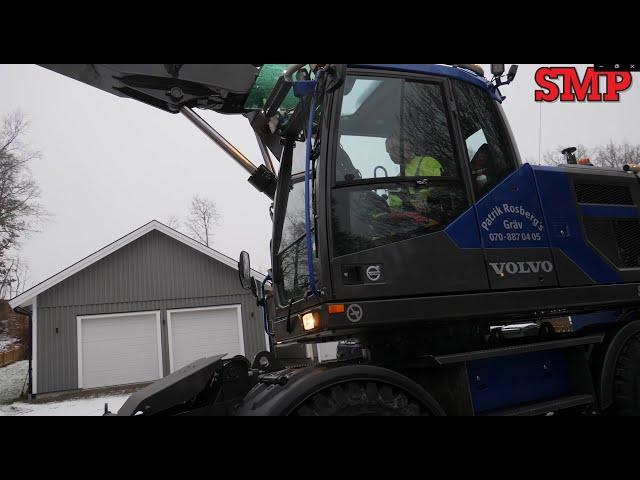 Patrik Rosberg från Växjö har kört grävmaskin i ungefär 30 år.