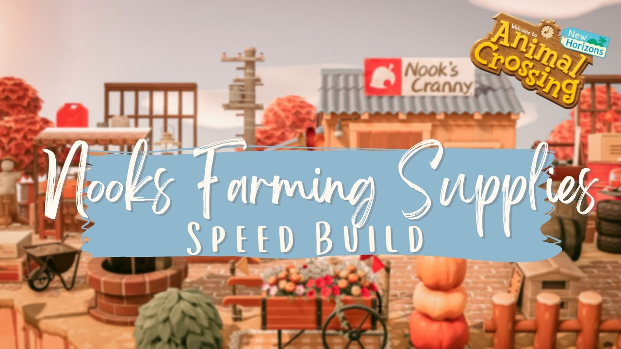 Nooks New Business Venture? Nooks Cranny Speed Build // Animal Crossing New Horizons