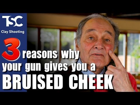 The three reasons your gun gives you a bruised cheek - YouTube