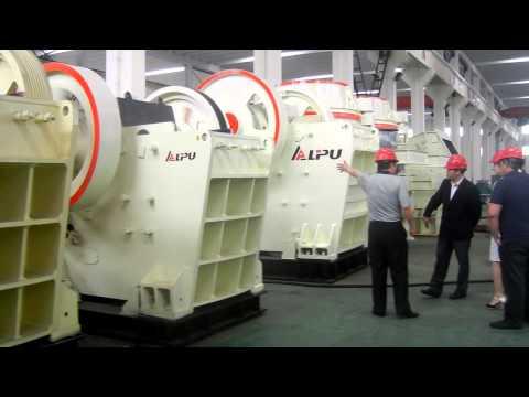PEV Jaw Crusher-Shanghai Lipu Heavy Industry Co.,Ltd.