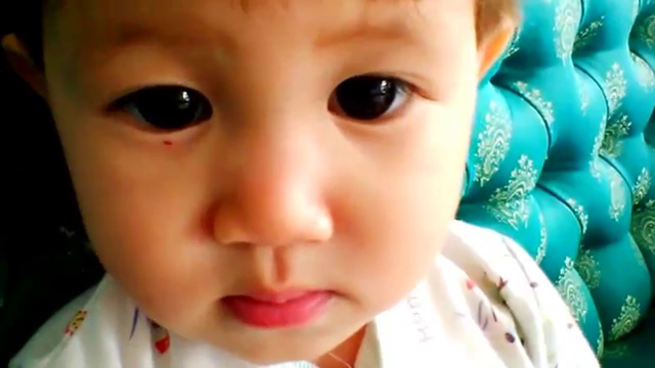funny baby video : real cute baby expression - youtube