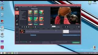 как пользоваться movavi video editor 11