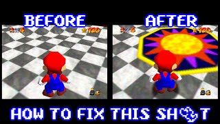 How to Fix Missing Textures in Project 64