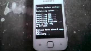 Status Bar & Lock Screen Mod For Galaxy Y