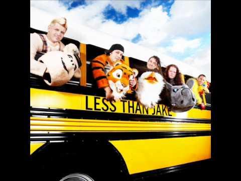 Less Than Jake - All My Best Friends Are Metalheads (LYRICS!)