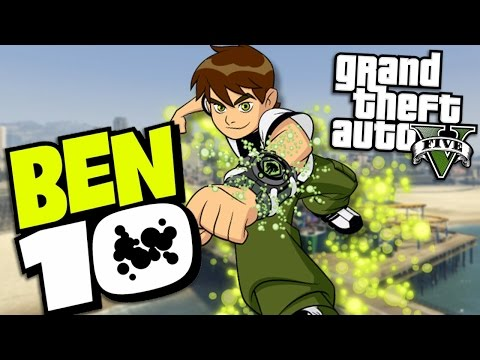 "GTA 5 Mods - BEN 10 ""BEN TENNYSON"" MOD (GTA 5 Mods Gameplay)"