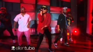 Mark Ronson Feat. Bruno Mars - Uptown Funk (Live Ellen Degeneres)