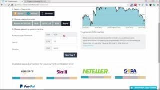 Покупка, продажа ETH эфиров за PayPal, Okpay, Skrill и пр