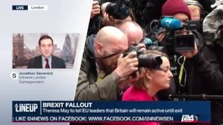 Jonathan Sacerdoti reporting on Theresa May at the EU Summit