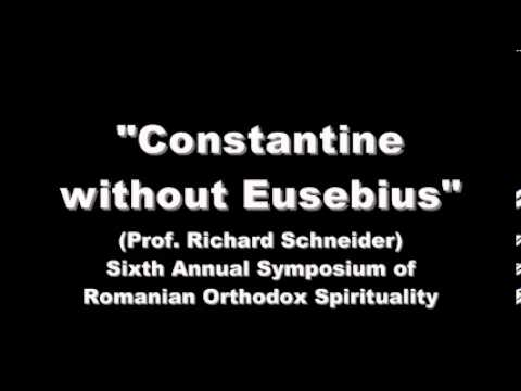 Constantine without Eusebius: What are the consequences for Orthodox Ecclesiology?