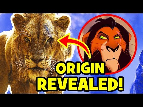 Scar&39;s NEW STORY Revealed In THE LION KING 2019