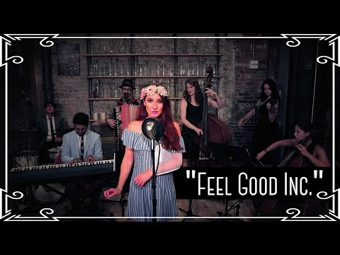 """Feel Good Inc."" (Gorillaz) Waltz Cover by Robyn Adele Anderson"
