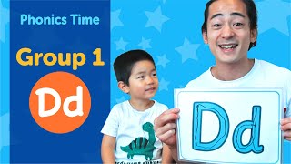 Group 1: Dd | Phonics Time with Masa and Junya | Made by Red Cat Reading