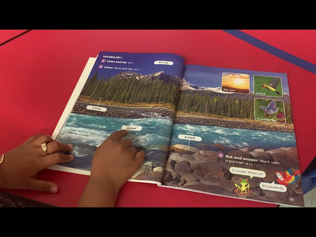 Learning new worlds, new vocabulary at San Jose Elementary