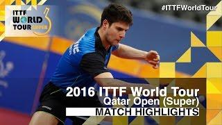 2016 Qatar Open Highlights: Ma Long vs D...