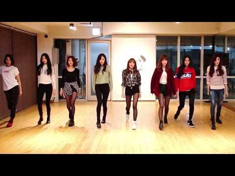 9MUSES - Drama - mirrored dance practice video - 나인뮤지스 드라마 안무 연습영상