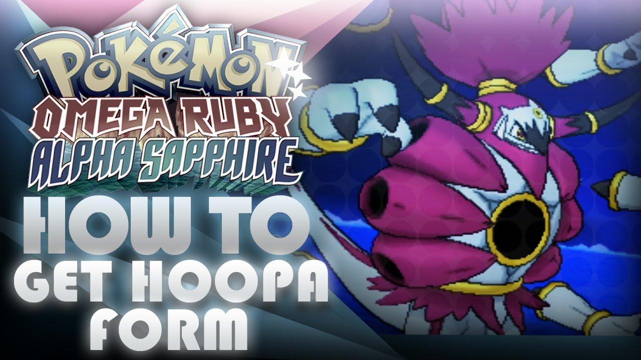 Pokemon ORAS How To Get Hoopa Unbound Form! Prison Bottle ...