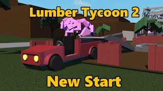 Lumber Tycoon 2: Starting Over | From Nothing to Silver Axe [Roblox] Part 1